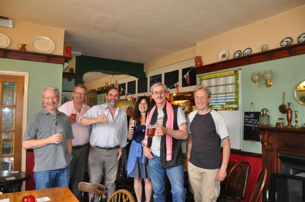 Somerset County Gazette: Villagers in Drayton plan to buy shares to keep their local pub open