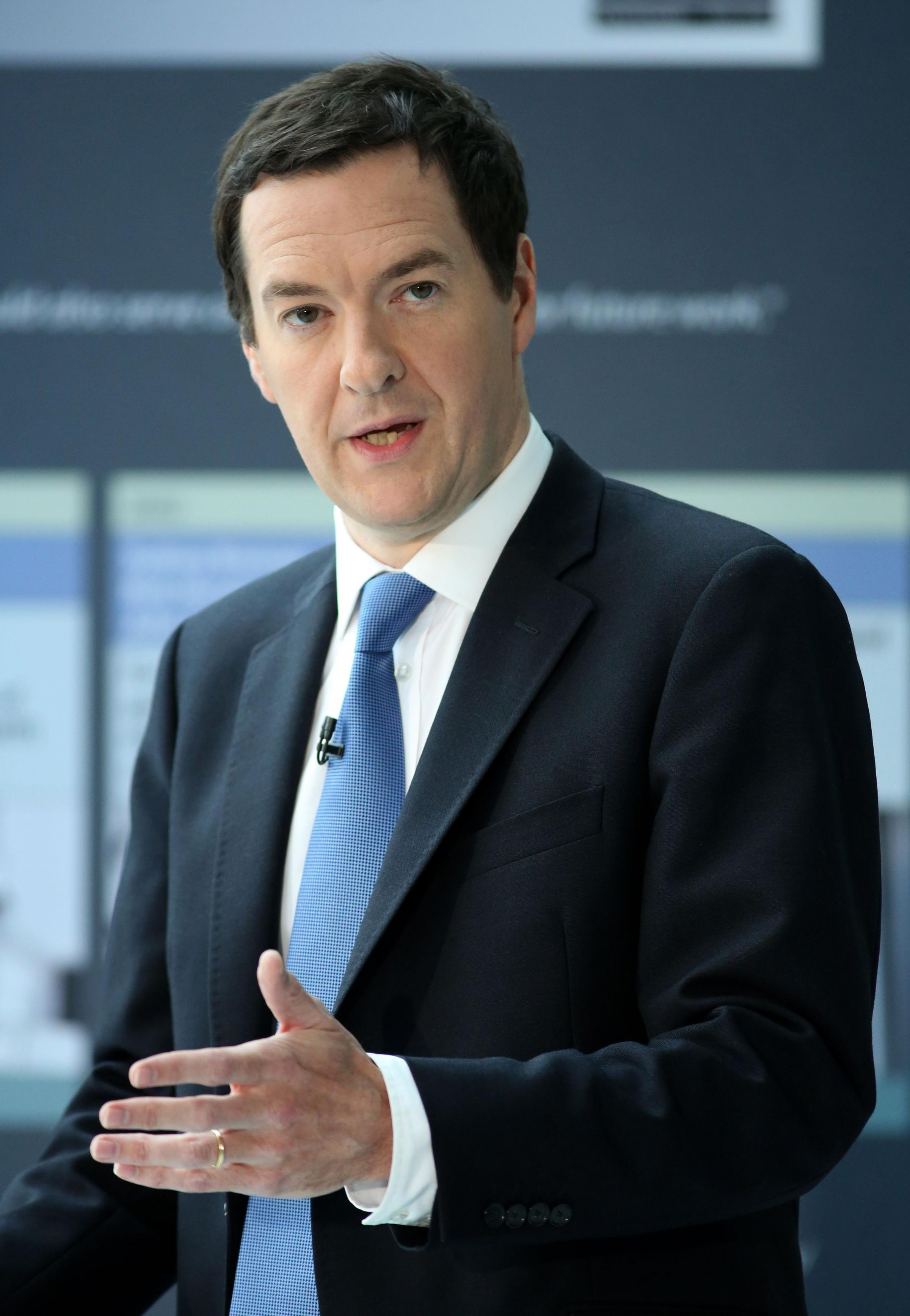 George Osborne meets the Chancellor of the Exchequer in Taunton - yes, it's true