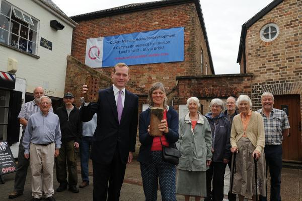MP Jeremy Browne backs Friends Meeting House refurbishment