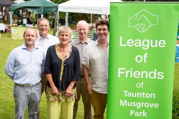 Huntsham Court fair supports Musgrove's League of Friends in Taunton