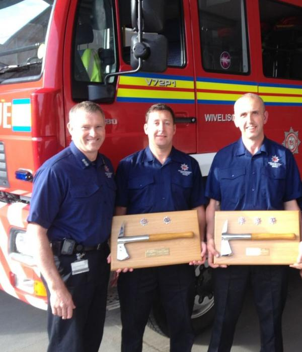 Wiveliscombe firefighters say their farewell