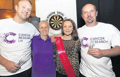 Darts are on target in 24-hour marathon