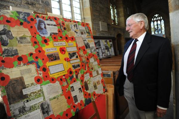 Moving First World War exhibition remembers North Curry's 200 soldiers