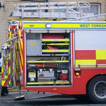 Flat in taunton damaged by smoke following cooker fire