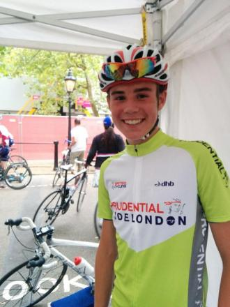 CYCLING: Elliot on a high after RideLondon event
