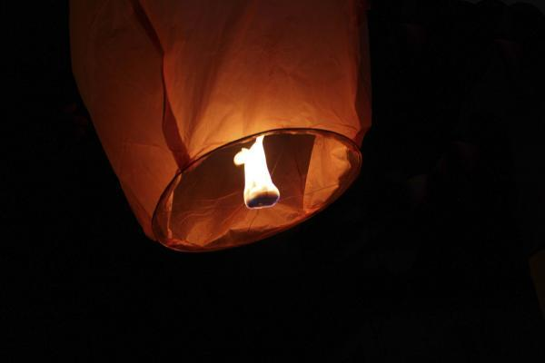 The new code on sky lanterns doesn't go far enough say NOEA