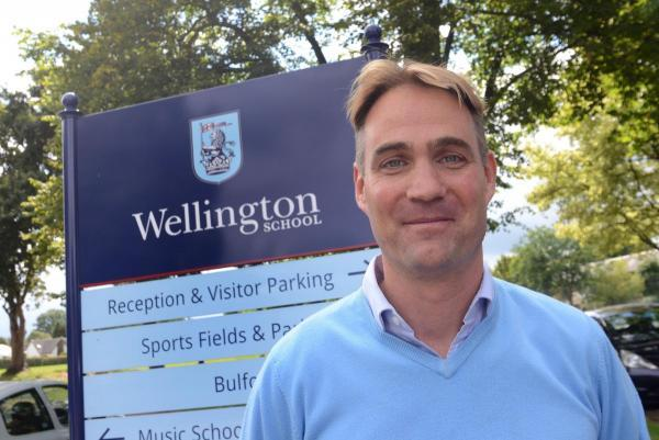HENRY Price is now ensconced as Wellington School's new headmaster.