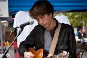 MATT Bond will be releasing his album at the market in Taunton this weekend.