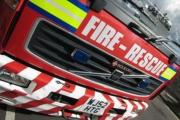 Road closed by barn fire in Langport