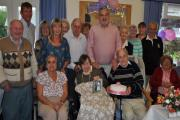 Pam and David Stevens celebrated their 60th wedding anniversary with family and friends.