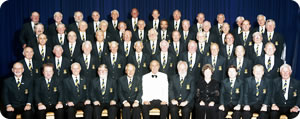 Barnstaple Male Voive Choir at Martock Church