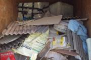Enforcement officers' training to combat asbestos fly-tipping