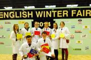 MEMBERS of Somerset's Young Farmers Club came overall third place at the English Winter Fair.