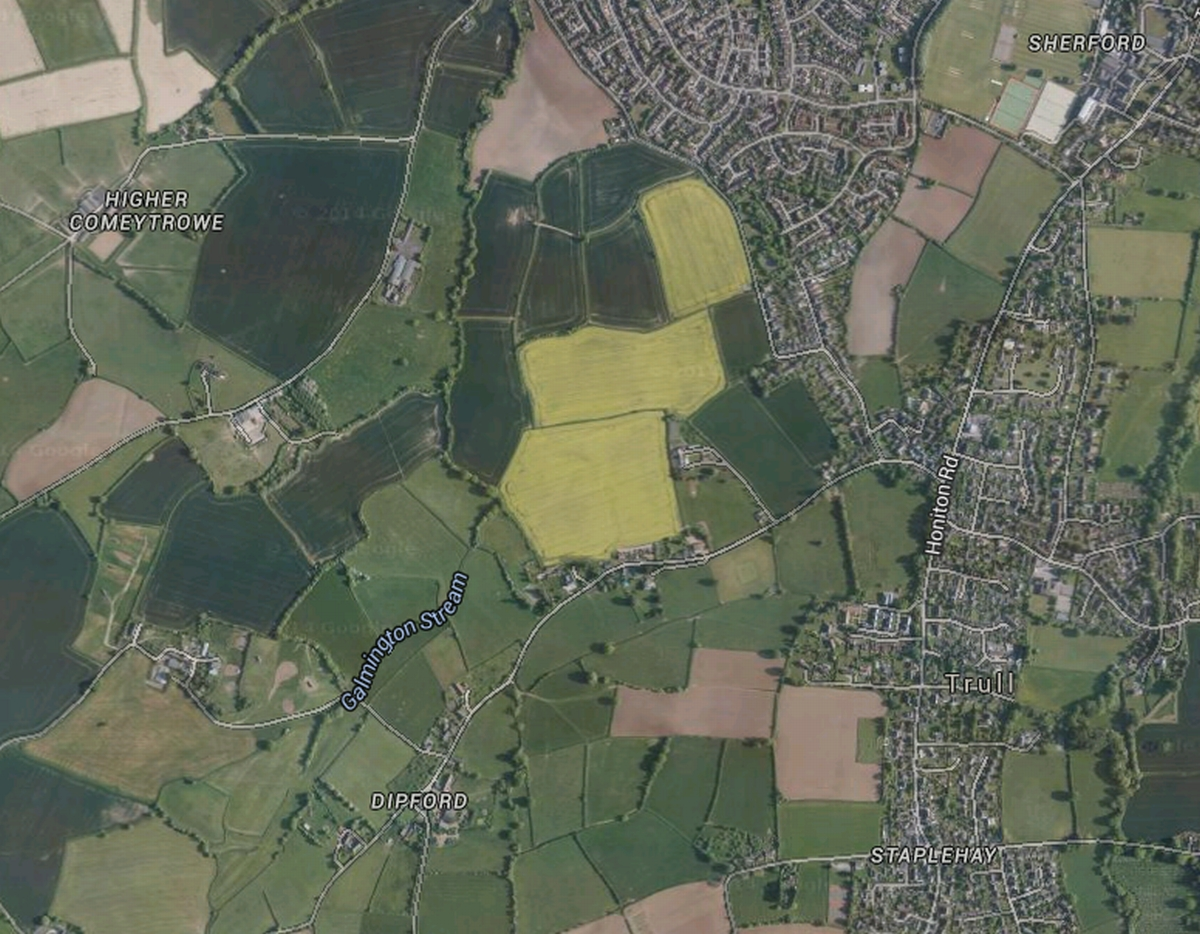SITE: The scheme will see 2,000 homes built at Comeytrowe/Trull