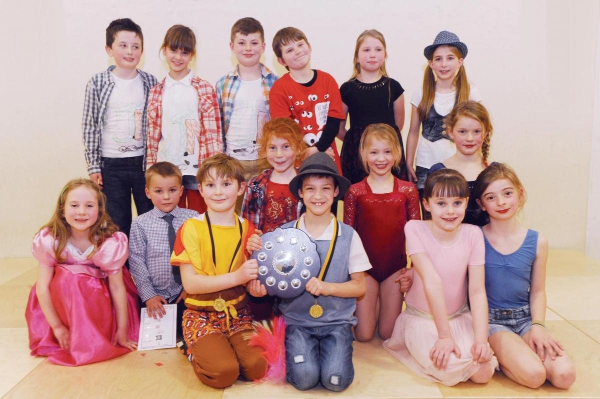 Skilled Pupils Perform In Curry Rivel Talent Show Somerset