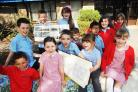 BLACKBROOK Primary pupils want former pupils to help make their 25th birthday one to remember. PHOTO ORDER KEYWORDS: Blackbrook anniversary
