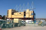 Work on new stand at Somerset County Cricket Club's HQ in Taunton progressing