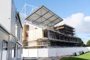 Work is going well on County Ground's new stand