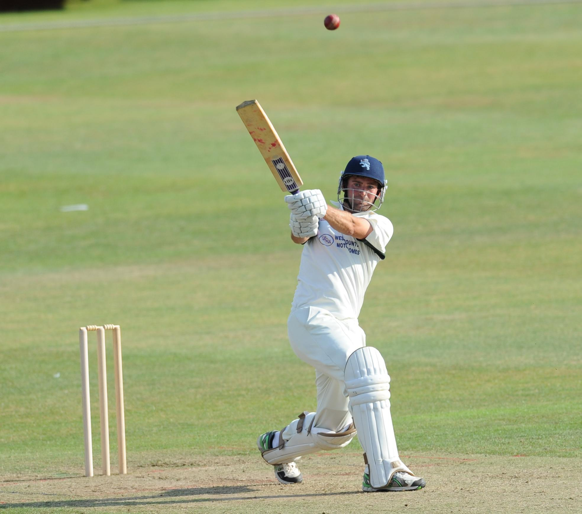 TON-UP: Robert Woodman hit 149 to help Taunton Deane to victory on Saturday.