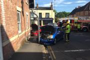 Did you see this crash in Taunton?