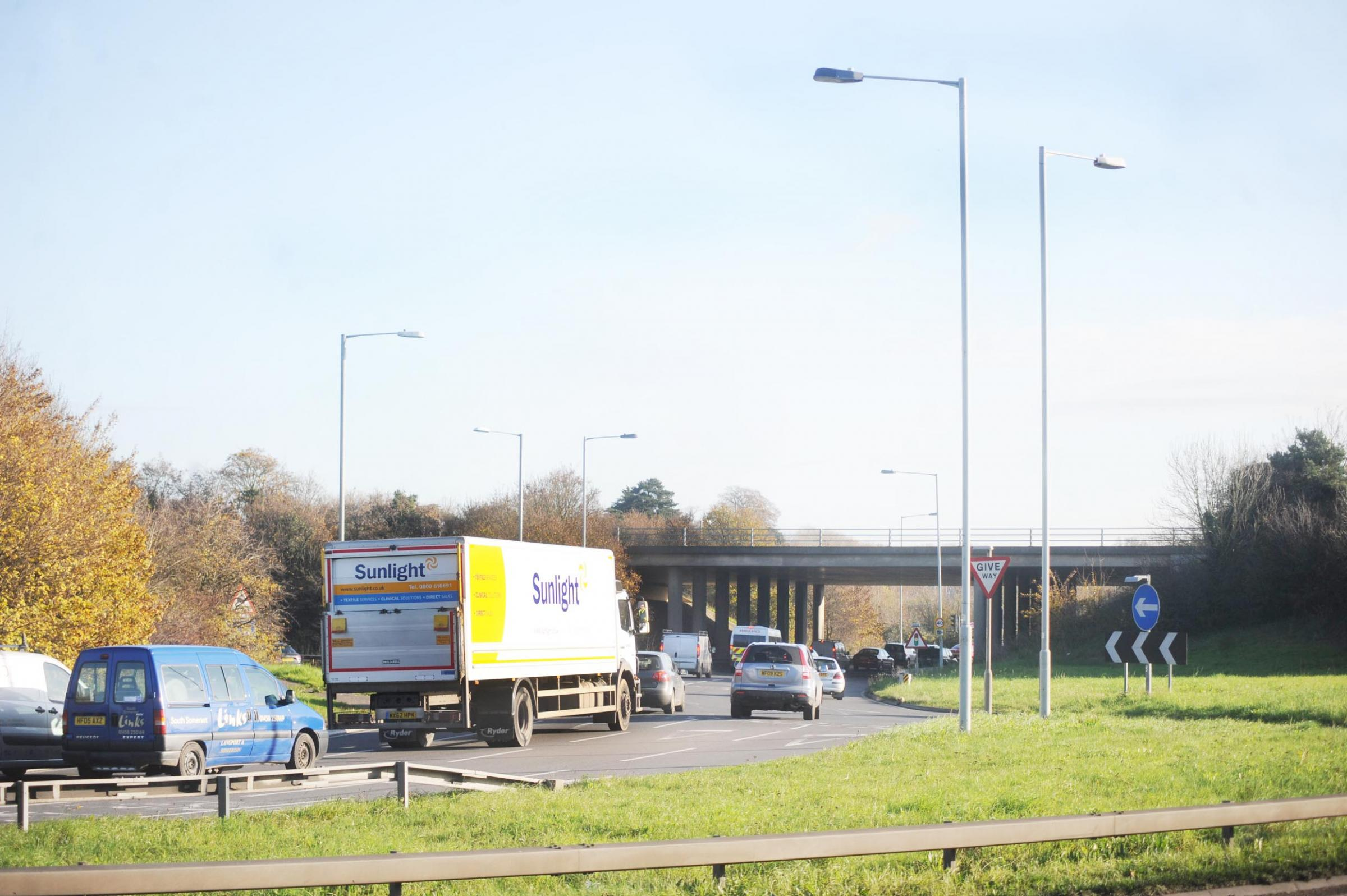 NEW ROUNDABOUT: As part of the works, a new roundabout will be installed at Junction 25
