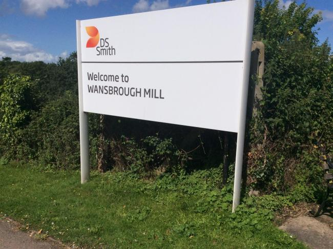 Jobs at risk as Wansbrough Paper Mill in Watchet could close