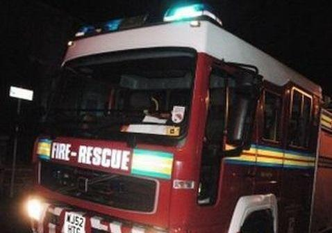 'Deliberate' fire in block of 20 garages overnight in Taunton