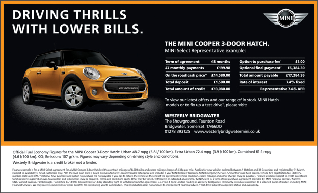 Somerset County Gazette: Mini ad