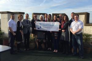 Time to shine: Launch of Taunton Deane Business Awards