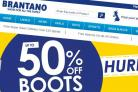 Brantano is a discount shoe retailer and has a concession in Wellington