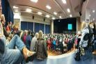 PUBLIC: A packed meeting where the decision was made. PICTURE: Tim Finch