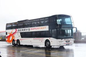Taunton firm unveil new superfast £400,000 double decker coach