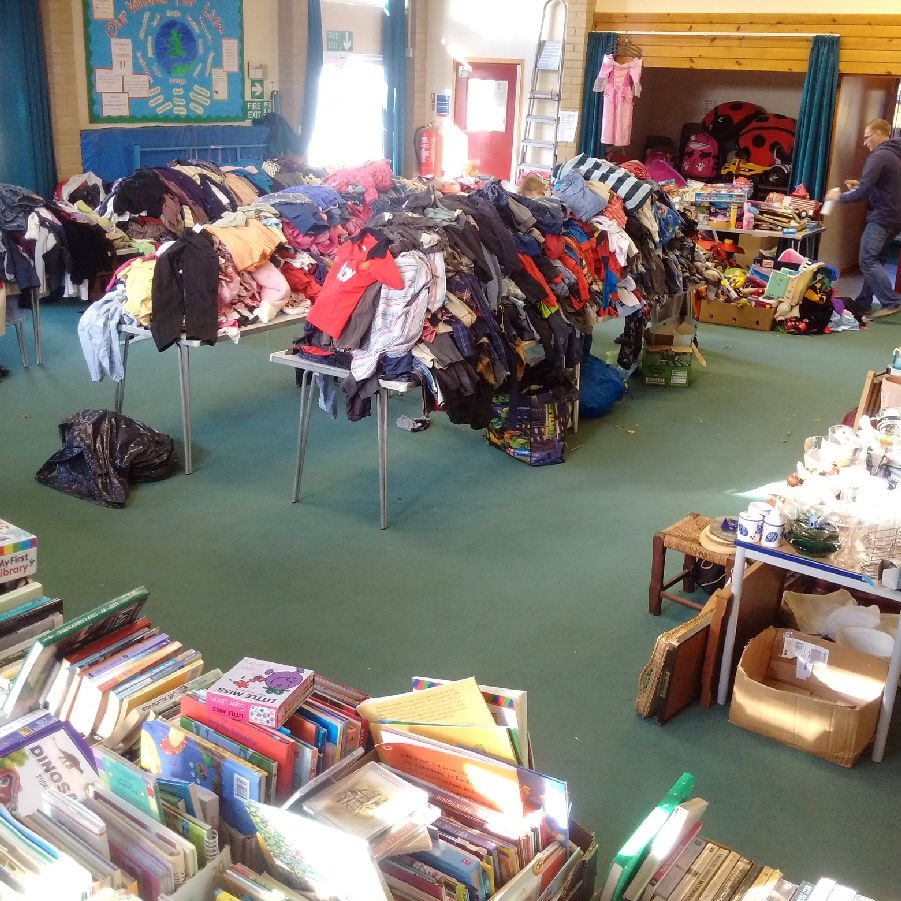 Kingston st Mary school Jumble Sale