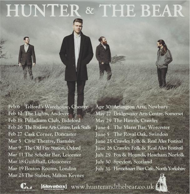 Boomsatsuma Presents: Hunter & The Bear