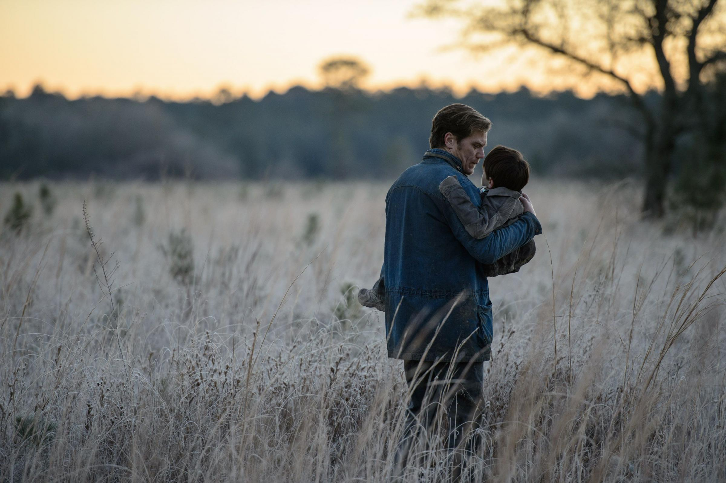 Lonely planet: Jaeden Lieberher and Michael Shannon in Midnight Special. (PA Photo/Warner Bros)
