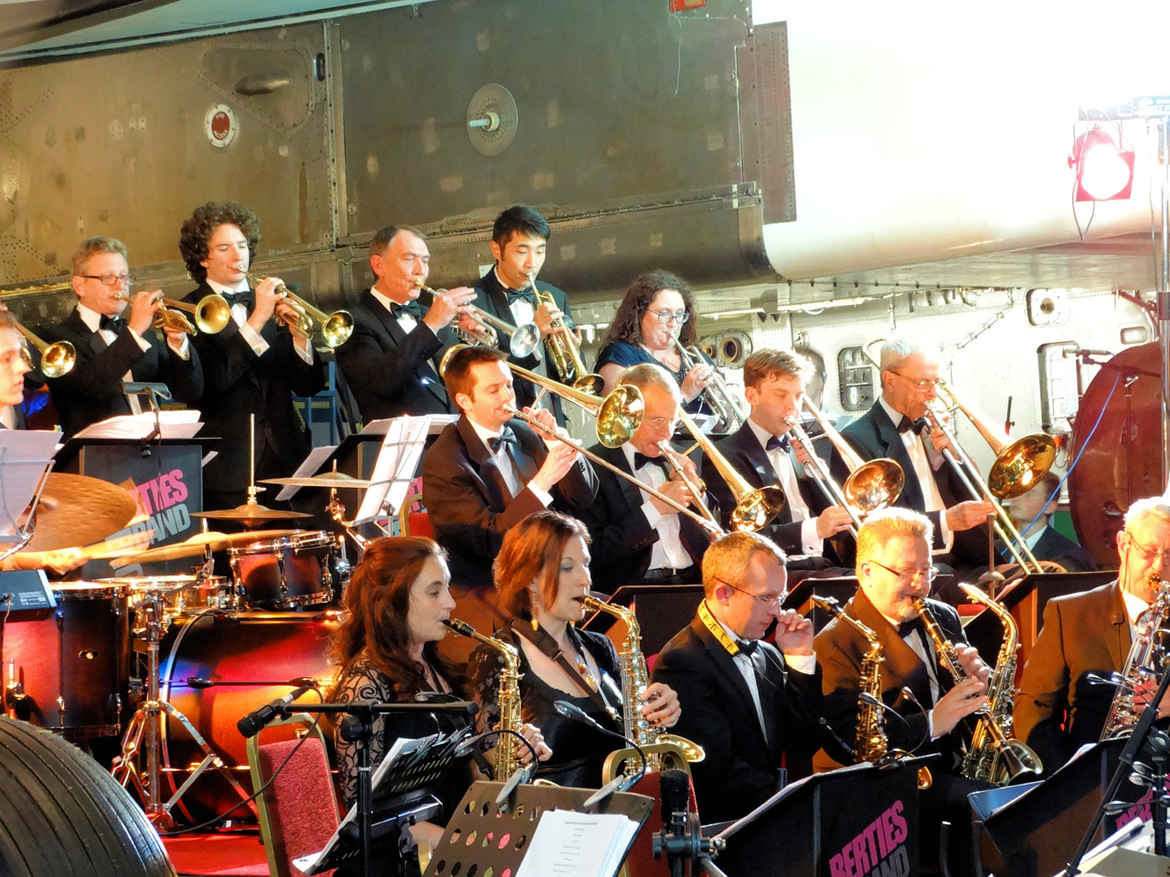 Jazz Picnic with Bertie's Big Band at Martock