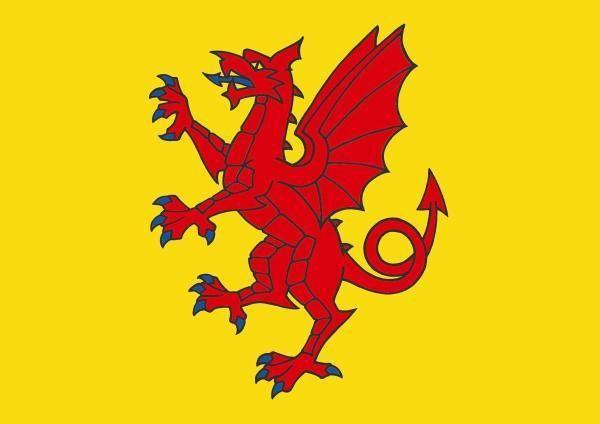 The Somerset flag.