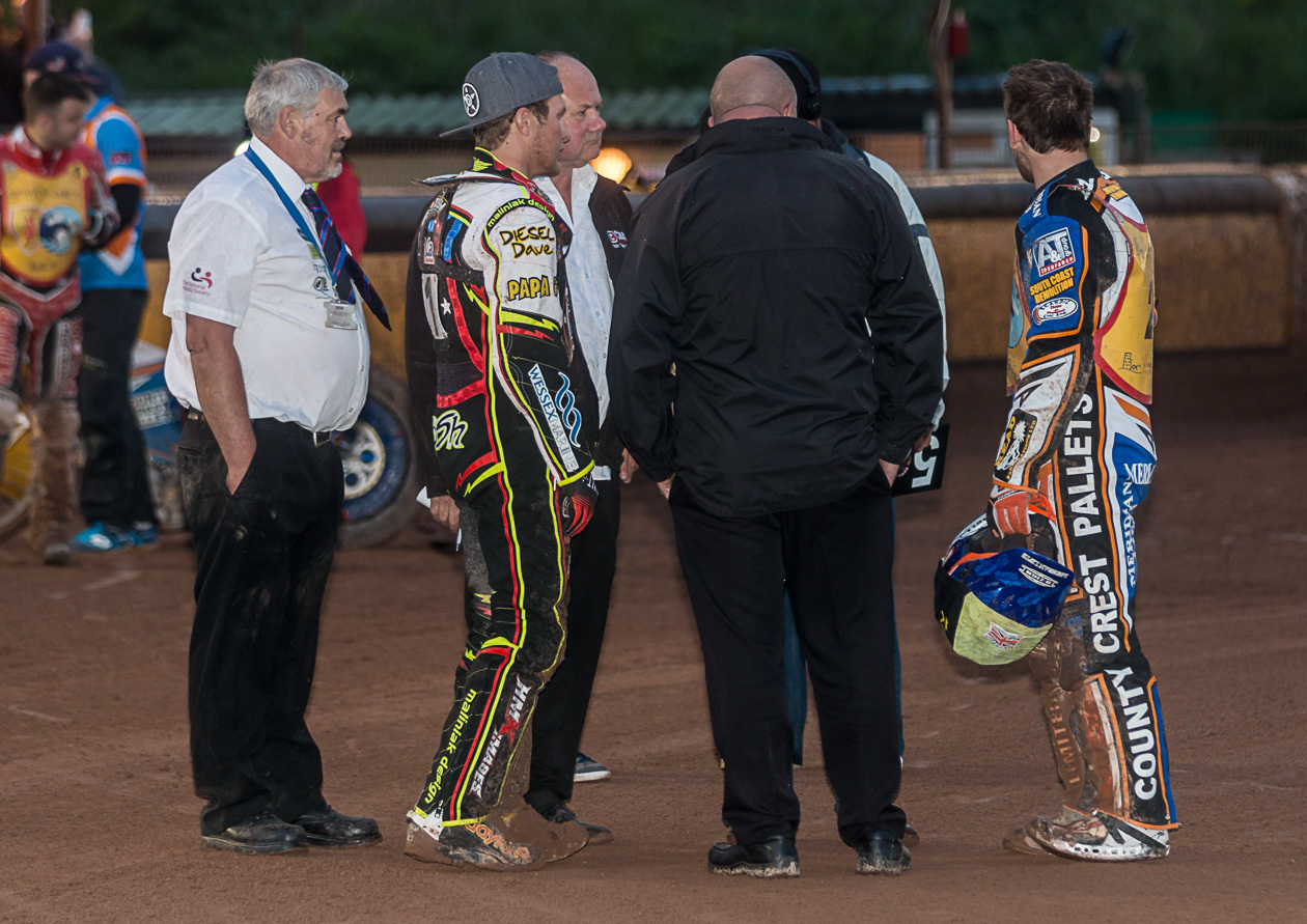 In photos: Sky broadcasts live speedway from Highbridge track