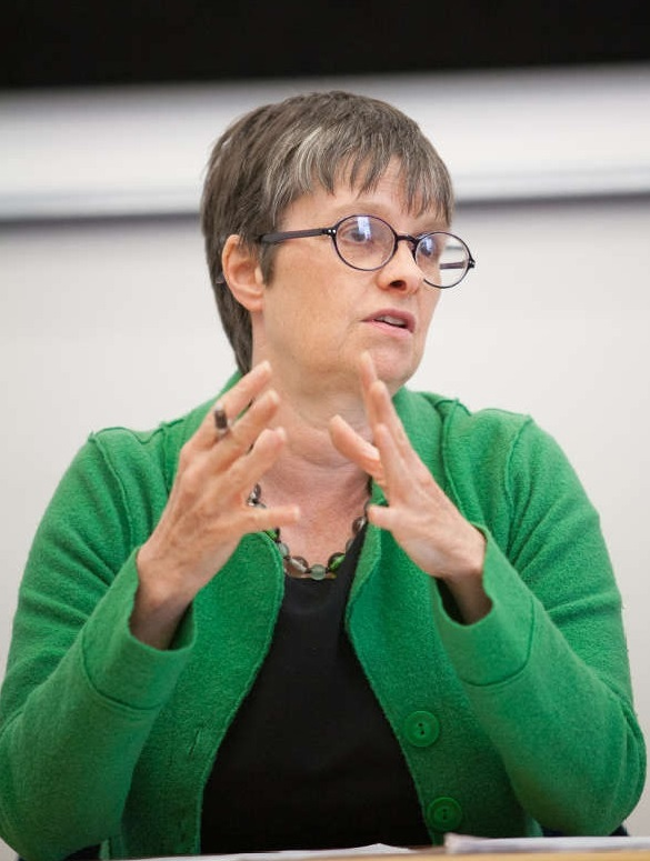 GREEN: MEP Molly Scott Cato wants the South West to become a leader in renewable energy