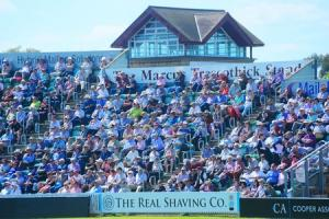 FULL HOUSE: Despite regular sell-out crowds, Taunton would be unlikely to stage matches in the proposed new eight-team T20 tournament.