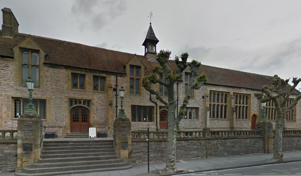 The Old Municipal Buildings, Taunton, where the inquest took place. Google Street Views.