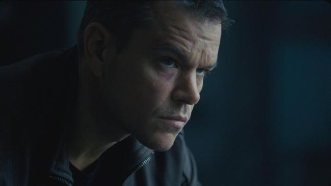 I SPY: Matt Damon as Jason Bourne