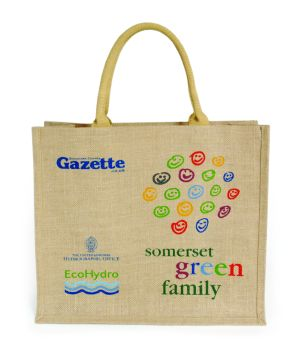 The limited edition jute bag