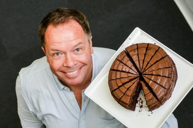 SECURING JOBS: Ministry of Cake managing director Chris Ormrod, which has been bought by French manufacturer Mademoiselle Desserts