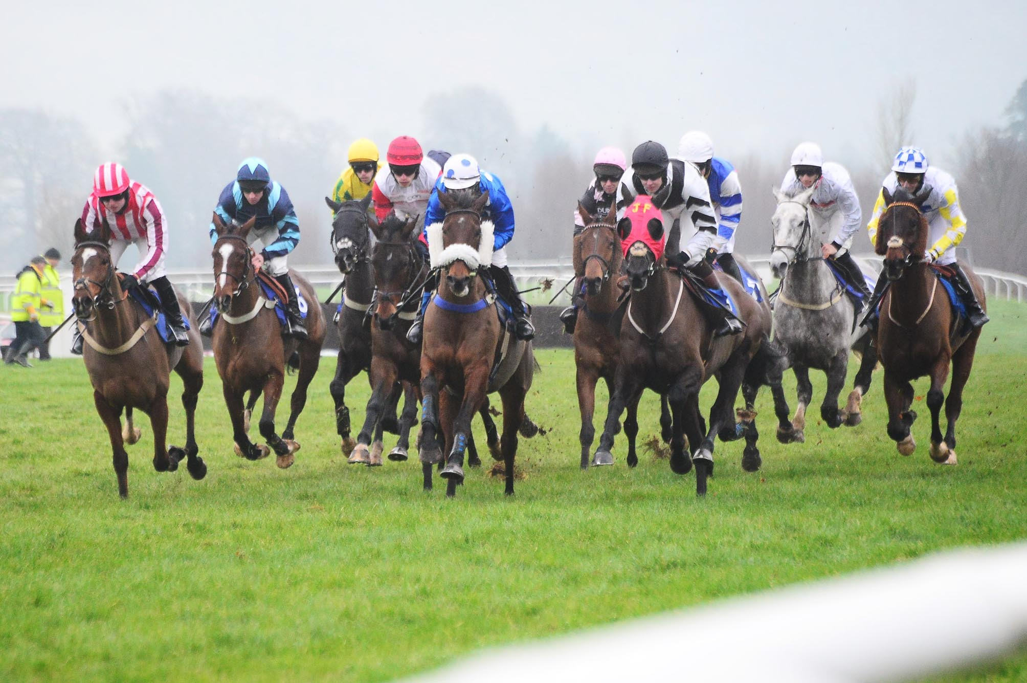 THEY'RE OFF: Taunton Racecourse hosts the Totepool Autumn Meeting tomorrow.