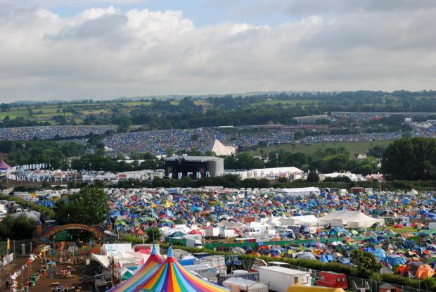Somerset County Gazette: MOVING?:The Glastonbury Festival could leave Somerset temporarily