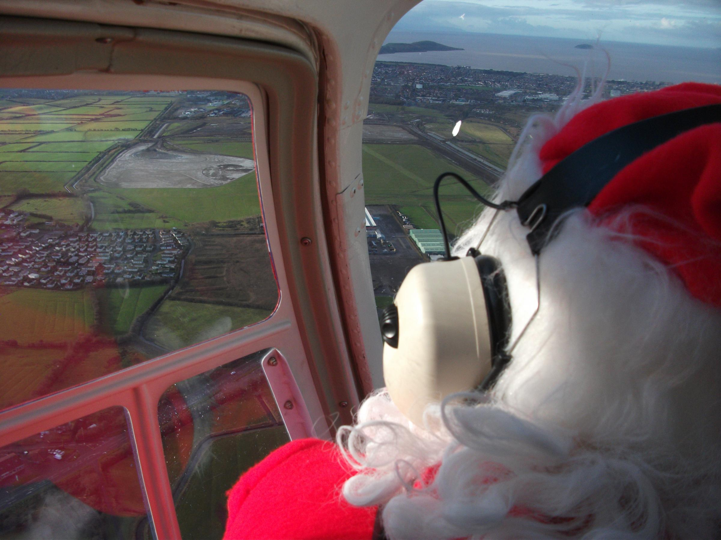 Christmas Family Fun Day – Santa Arrives by Helicopter