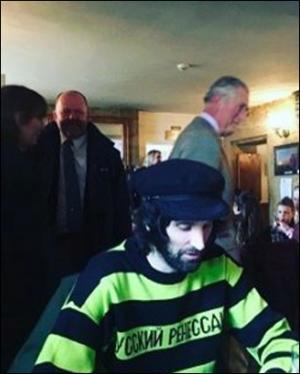Somerset County Gazette: CELEBRITY PUB: Prince Charles AND Kasabian drop in to Somerset local