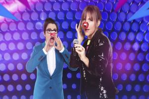 Mel and Sue share Red Nose snap ahead of Let's Sing And Dance For Comic Relief