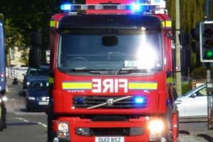 FIRE: Firefighters from Dulverton and Minehead were called to attend a tractor fire on the A396.